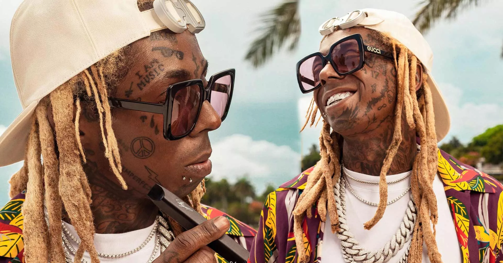 Check Out Lil Wayne S New Explosive Face Tattoo
