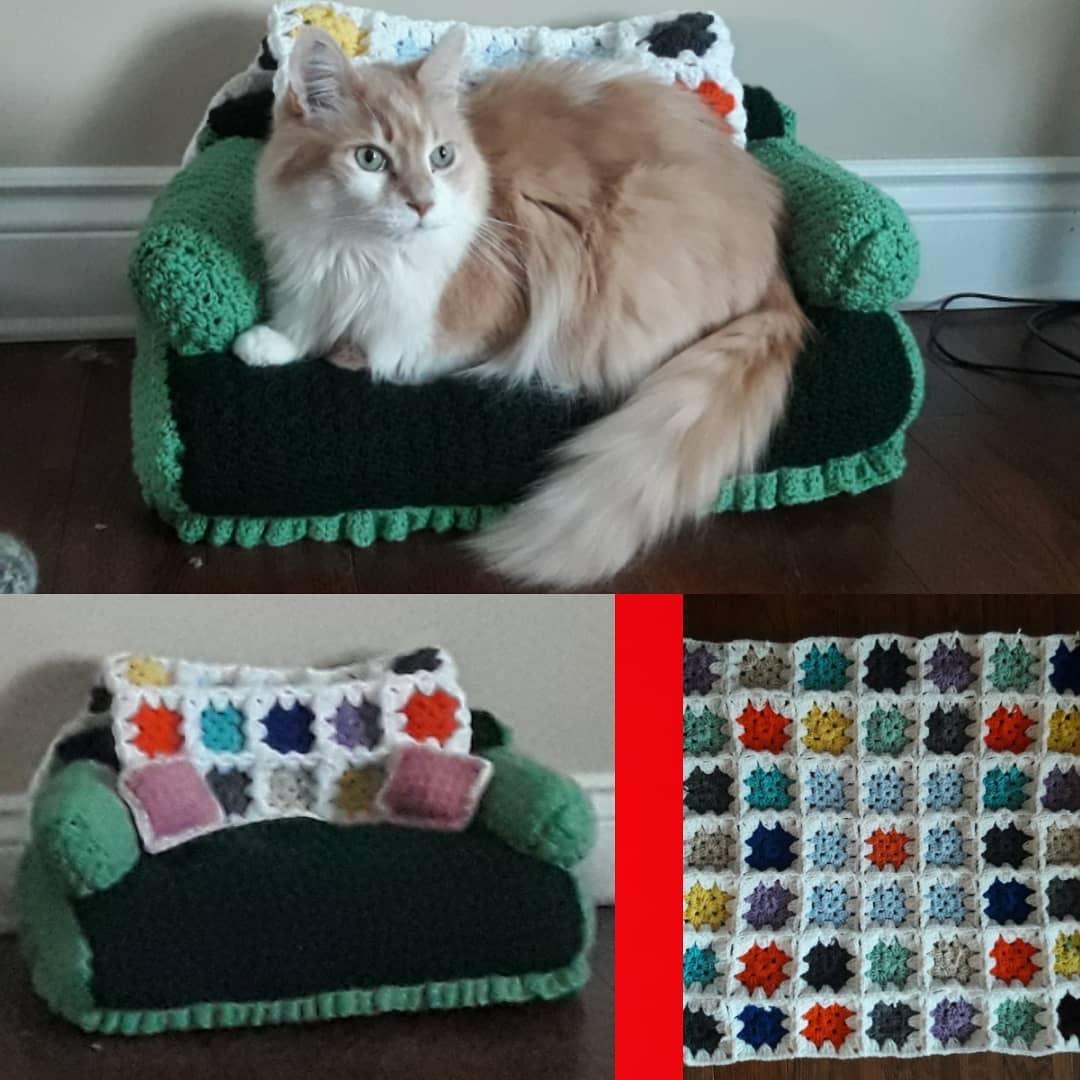 Tiny Cat Free Crochet Patterns | 1080x1080