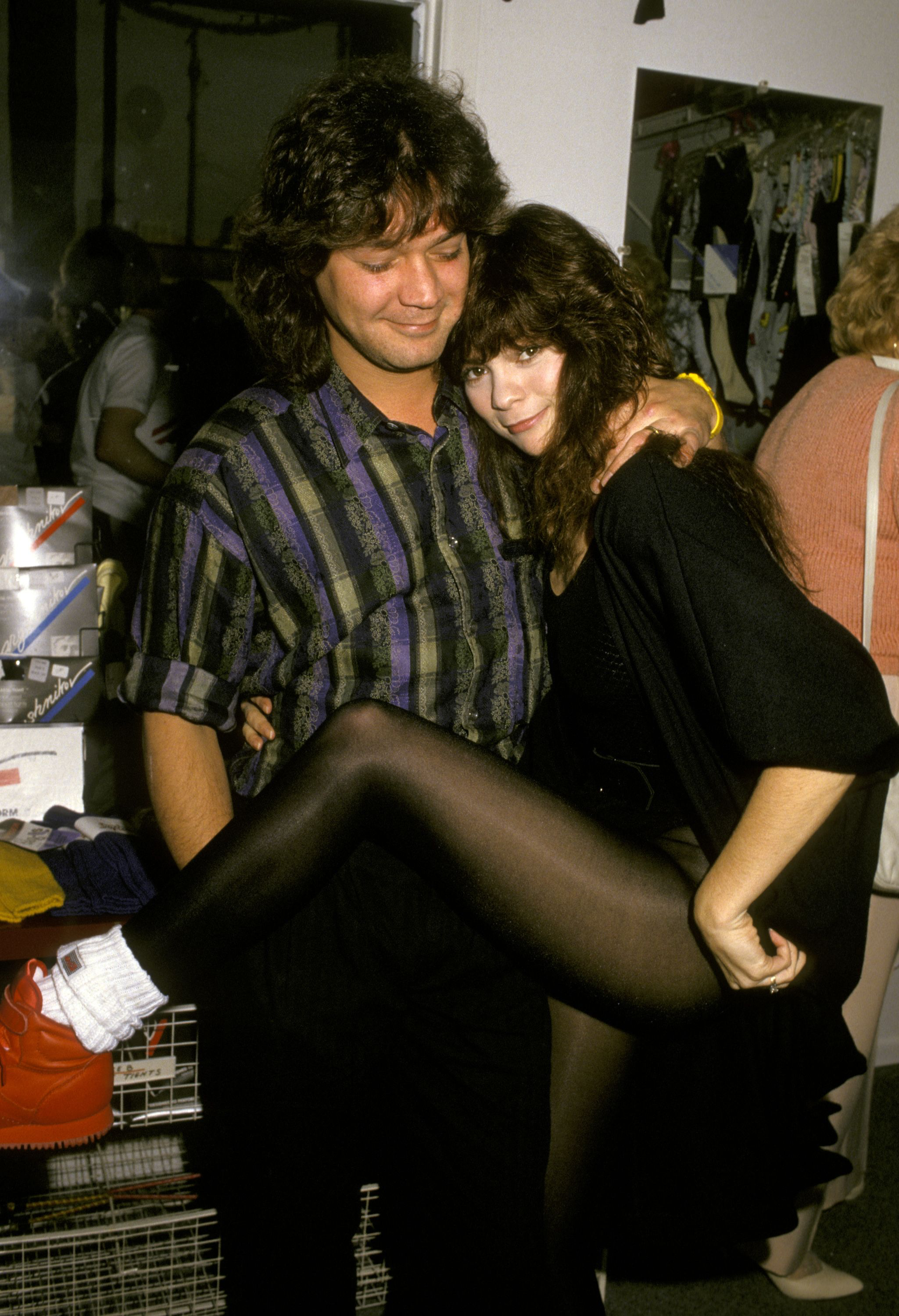Eddie Van Halen Valerie Bertinelli Remain Friends To This Day