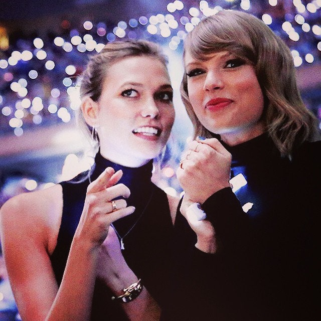 Taylor Swift Rekindles Karlie Kloss Romance Rumors Model Responds With Her Happy Place