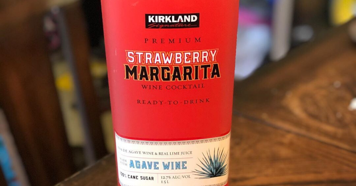 Costco Is Selling Giant Bottles Of Ready To Drink Strawberry Margarita For Under 10