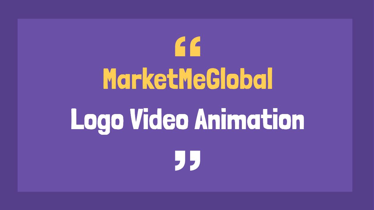 Logo Video Animation
