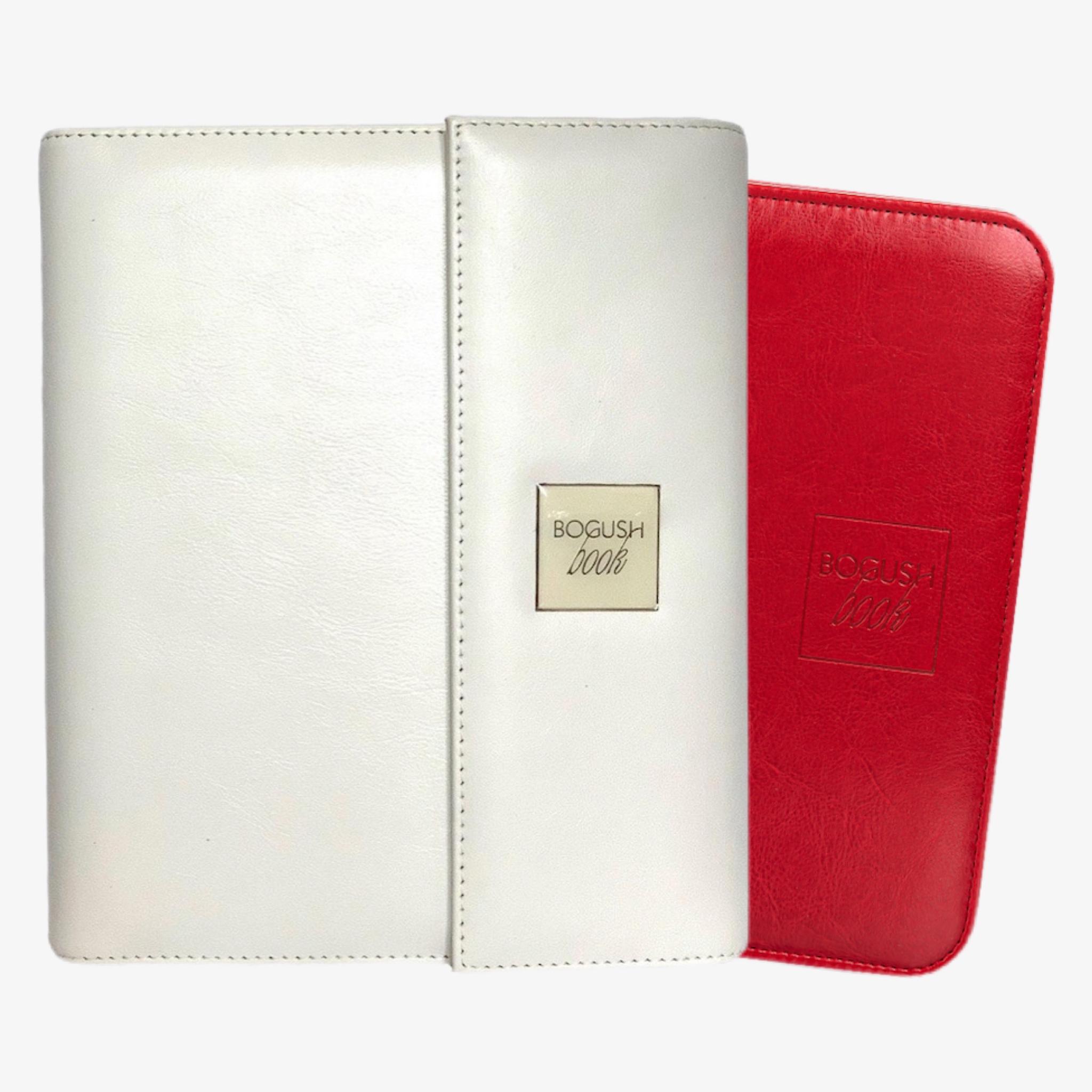 BogushBook из натуральной кожи + BogushBook из экокожи