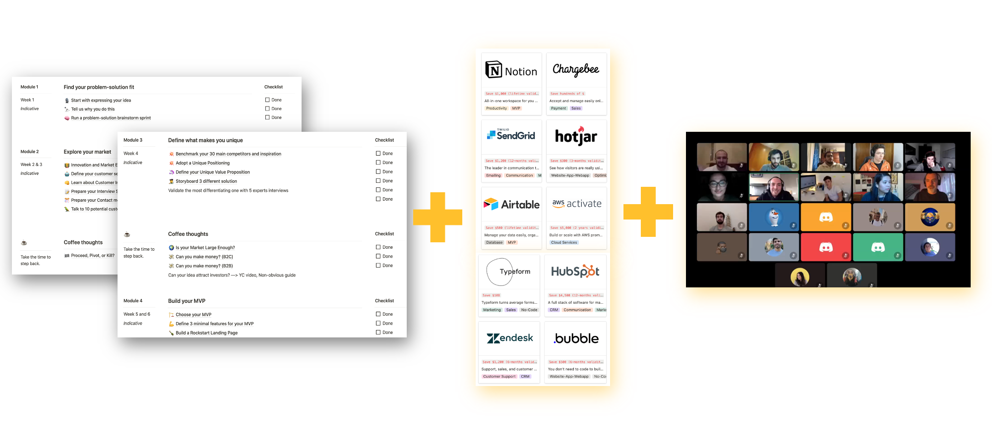 Access to all Notion Templates + Perks + exclusive Community