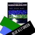 Blue & Lt Green