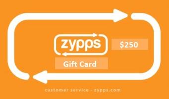 Zypps Gift Card $250 (DUS)
