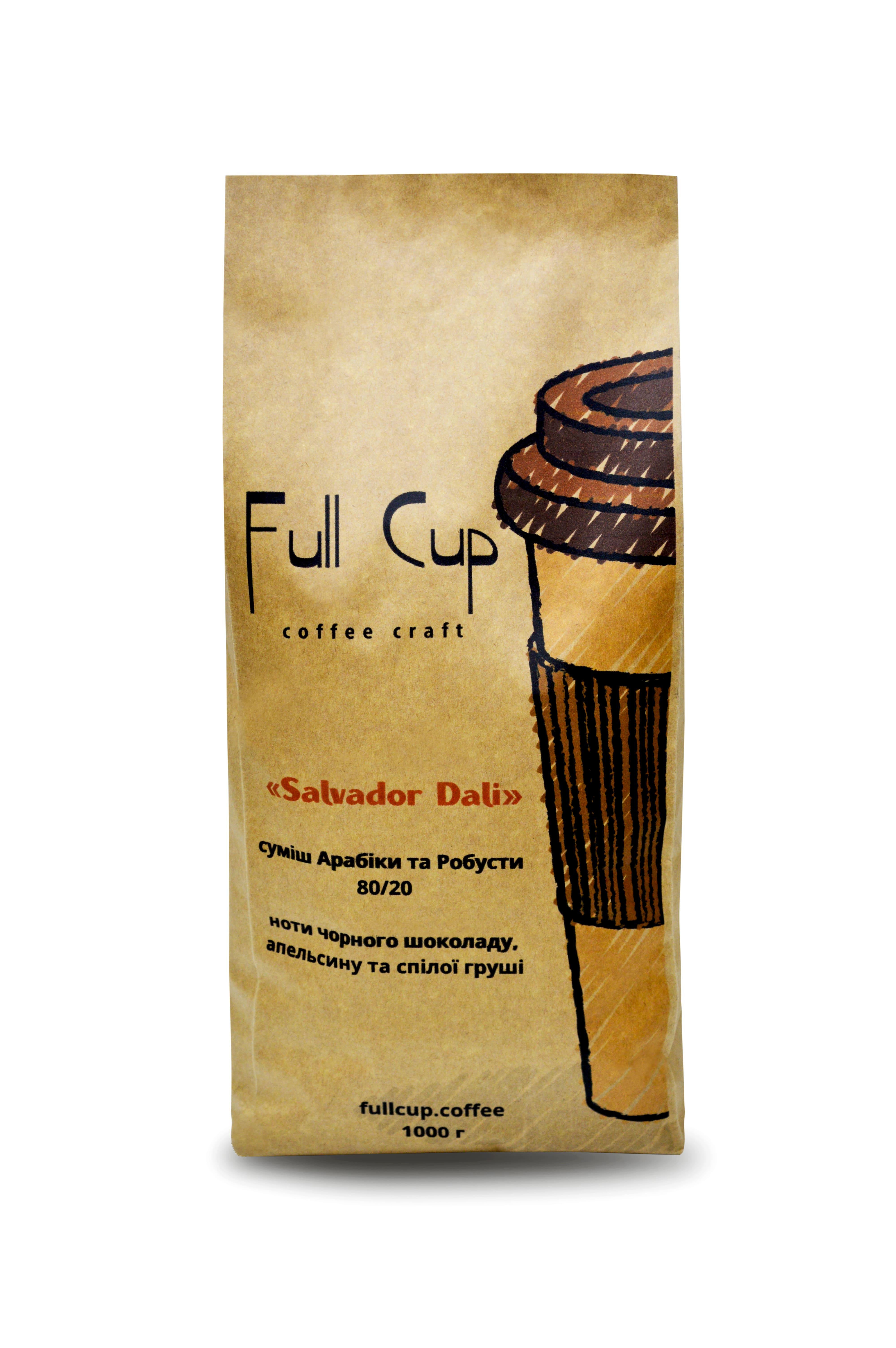 Купаж «Salvador Dali» ноты черного шоколада, апельсина и спелой груши...