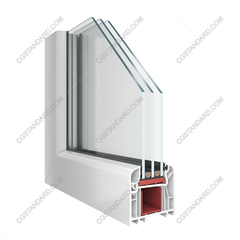 WDS 7S Window 3D Render 4K