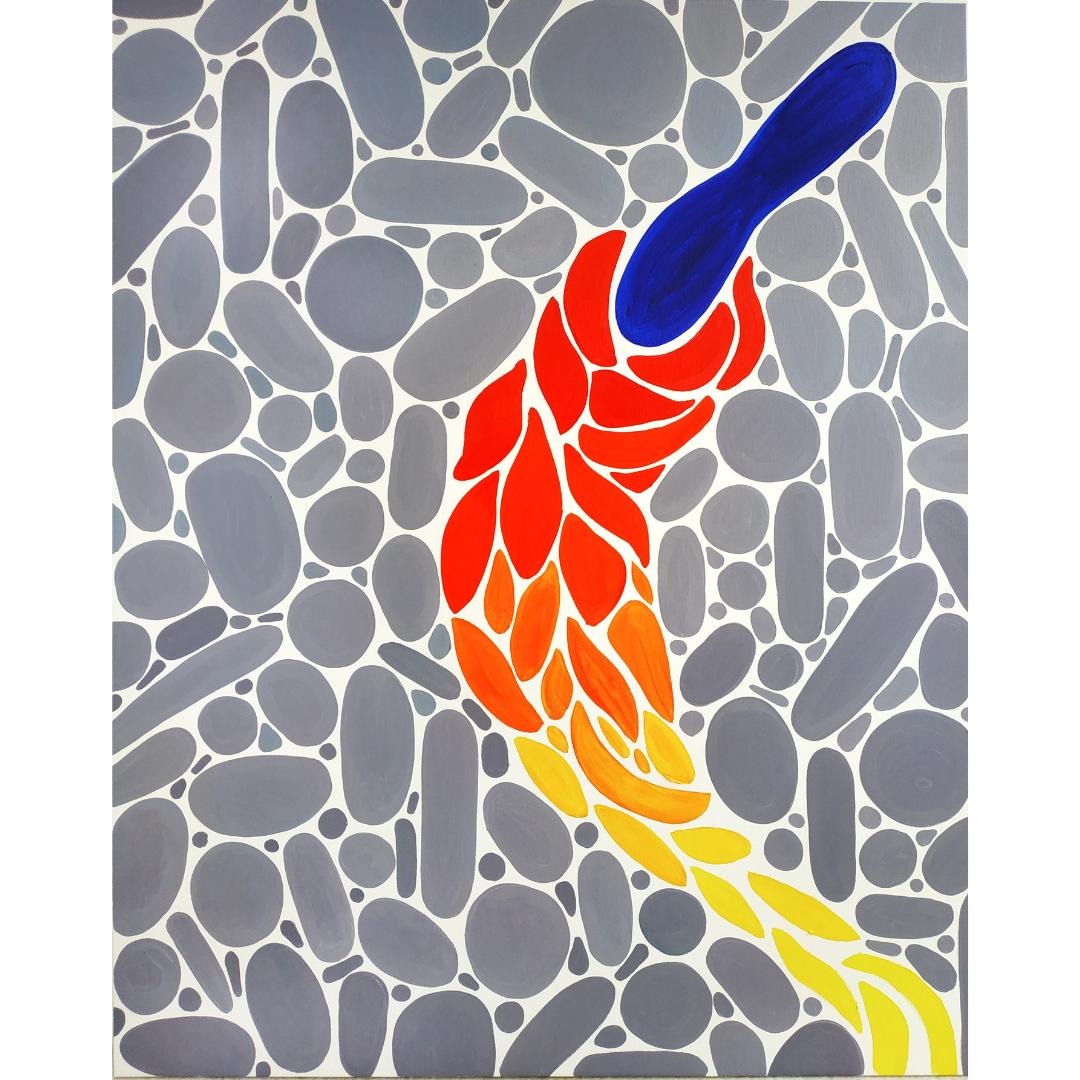 Свобода, 2020, Олія на полотні, 100*80 см