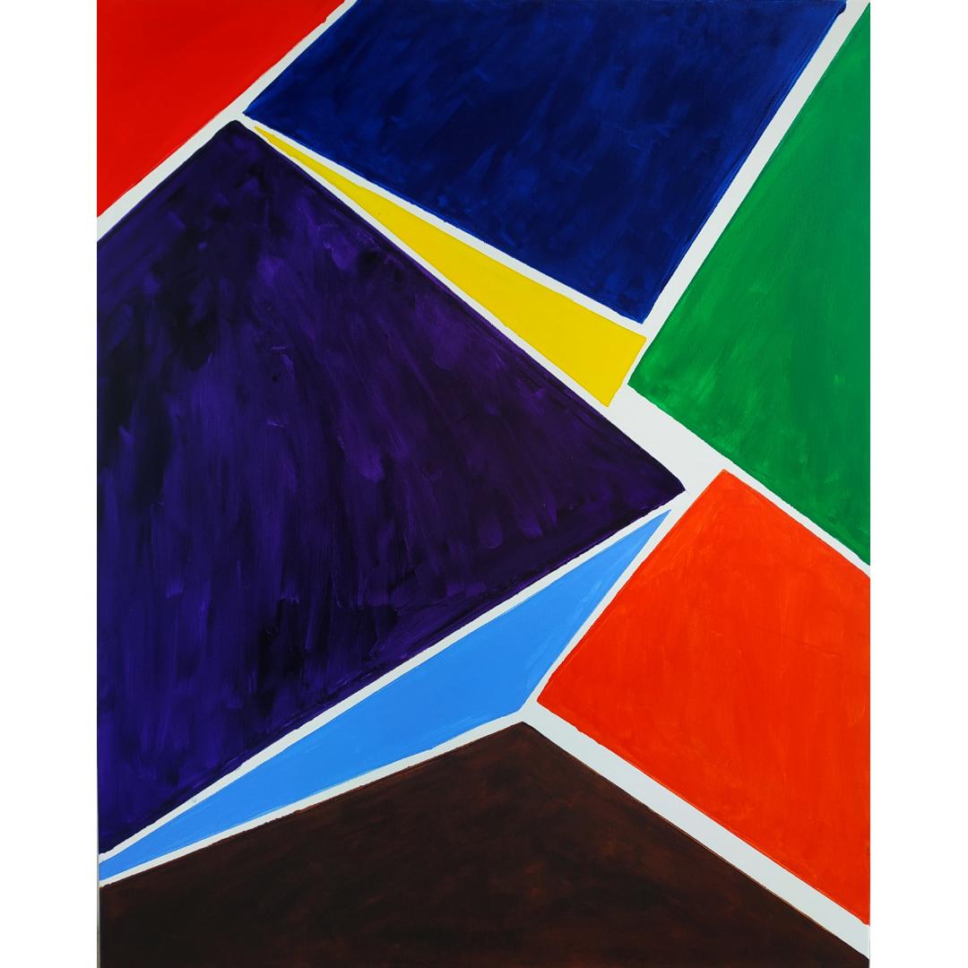 Ізоляція, 2020, Акрил на полотні, 100*80 см