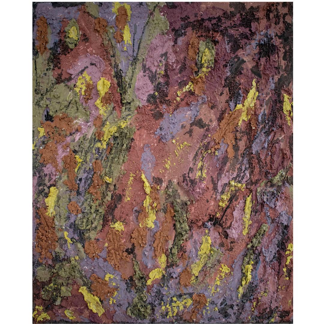 Кора баобаба, 2020, змішана техніка, полотно, 80*65 см