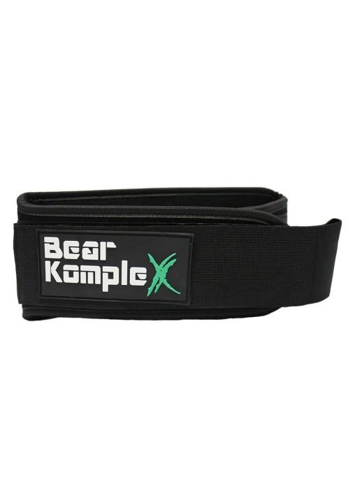 "Пояс атлетичний BEAR KOMPLEX ""BLACK"""