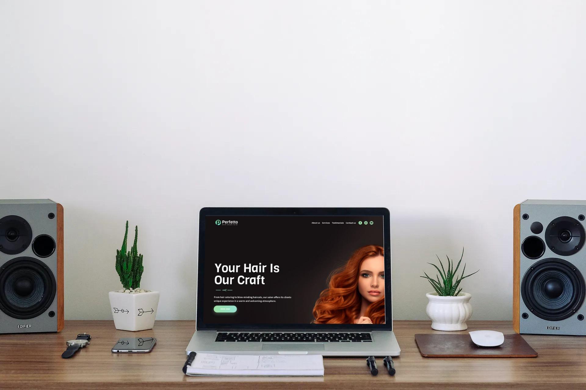 Self Service Business Website