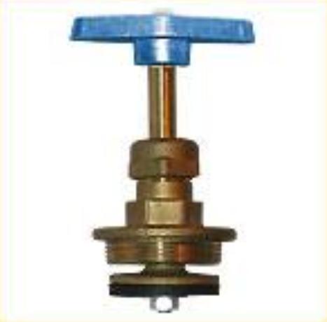 Головки вентильні (кранбукси) для вентилів 15Б3р вода до 75оС з маховиком  М45х1,5 40