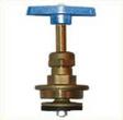 Головки вентильні (кранбукси) для вентилів 15Б3р вода до 75оС з маховиком  М52х2 50