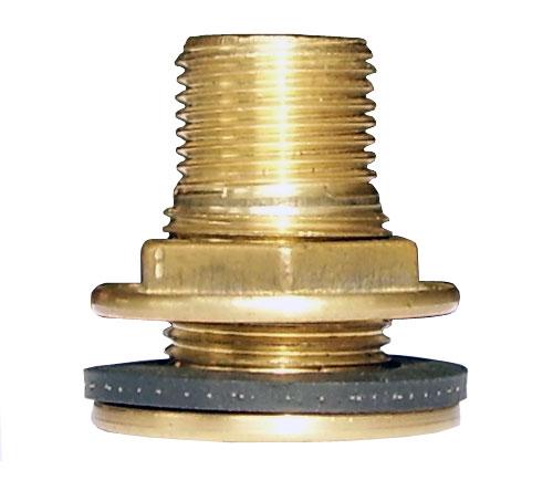 Штуцер зливний (врізка для ємності)  15