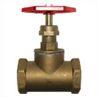 Клапаны запорные муфтовые (вентили) 15Б1п вода, пар t до 225оC, PN =16кгс/см2  40