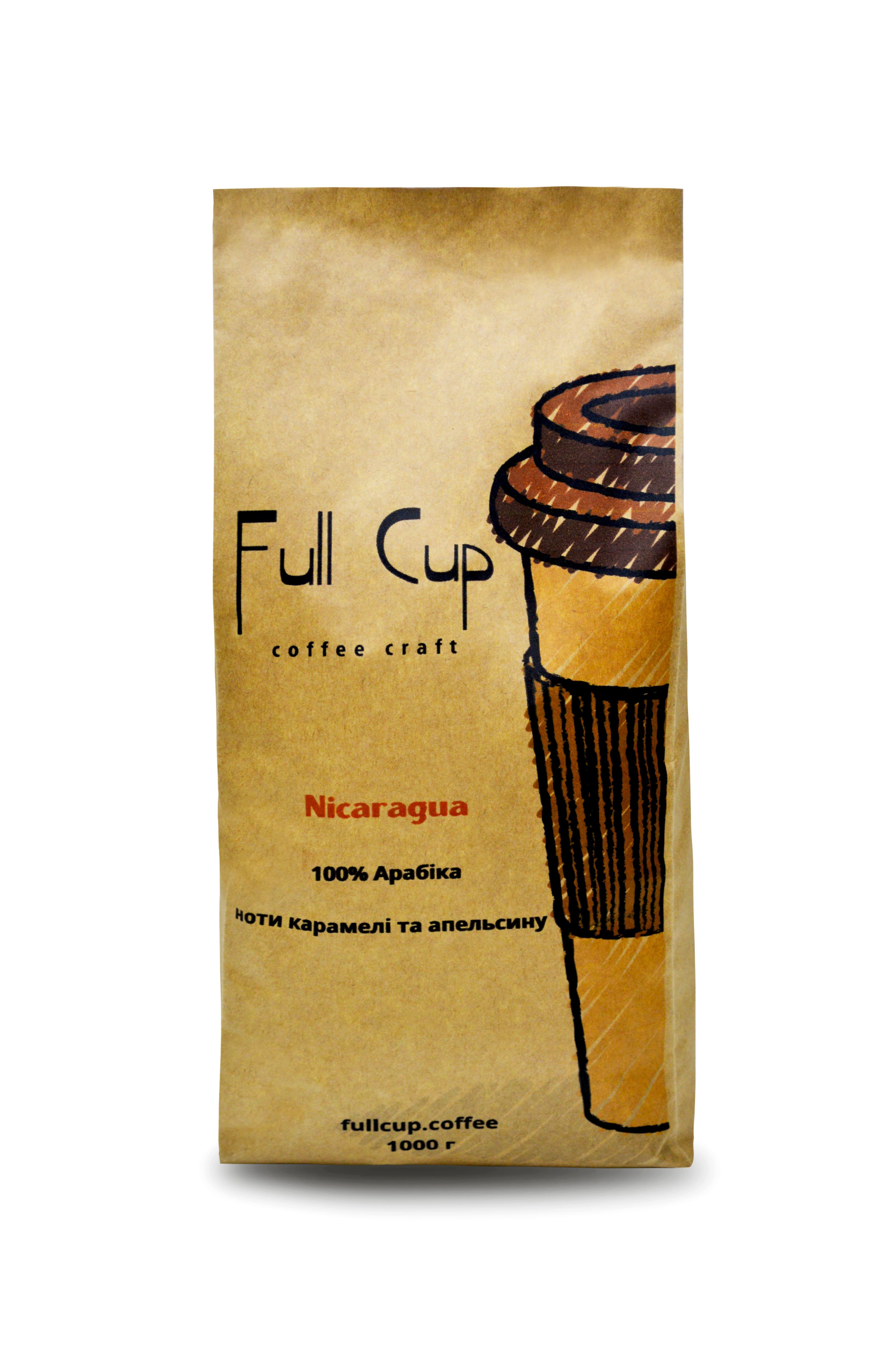 Арабика Nicaragua Finca San Ramon 1000 гр Мягкий, с нотами карамели, какао, и цитрусовой кислотностью апельсина...