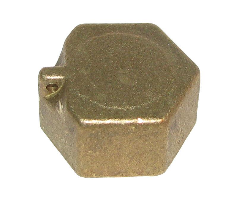 Заглушка (колпак) с контровочными отверстиями  15В