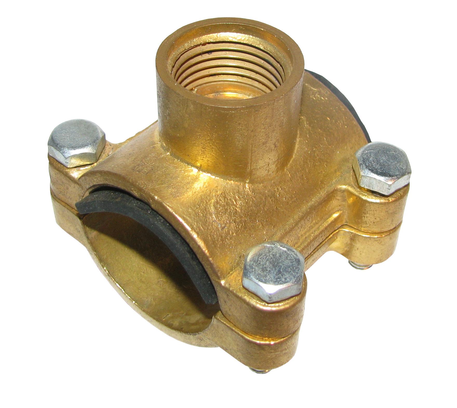 Отвод накладной трубный (врезка)  15