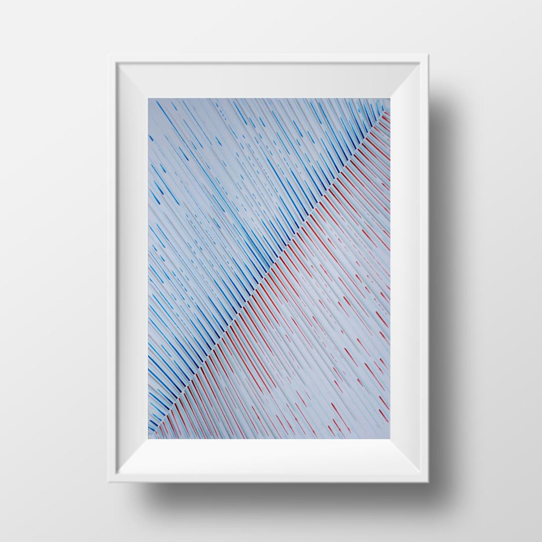 Лід та полум'я-2, 2020, чорнило на папері, 45*32 см