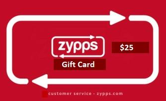 Zypps Gift Card $25 (Zypps_25)
