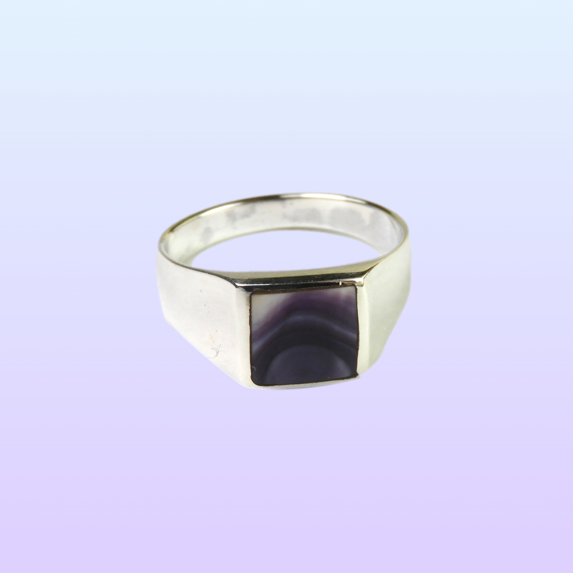 Square Wampum Ring