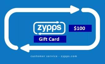 Zypps Gift Card $100 (Zypps_100)