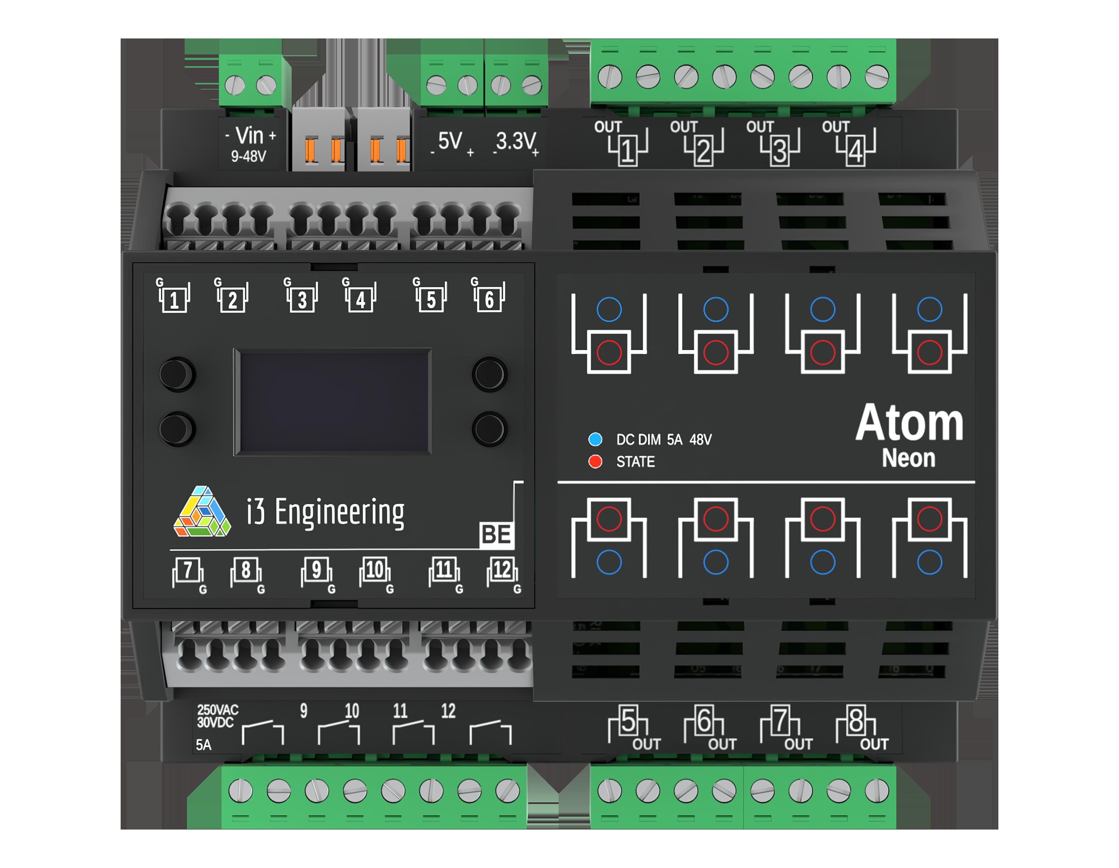 Atom Neon BE