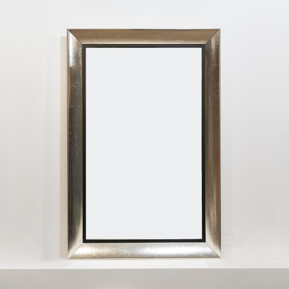 Зеркало с белым золотом