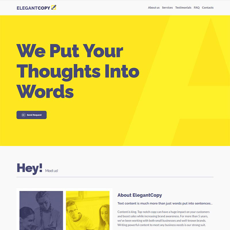 Copywriting Agency