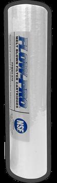 Filtro de sedimentos de polipropileno termofusionado  5 micras 9 3/4