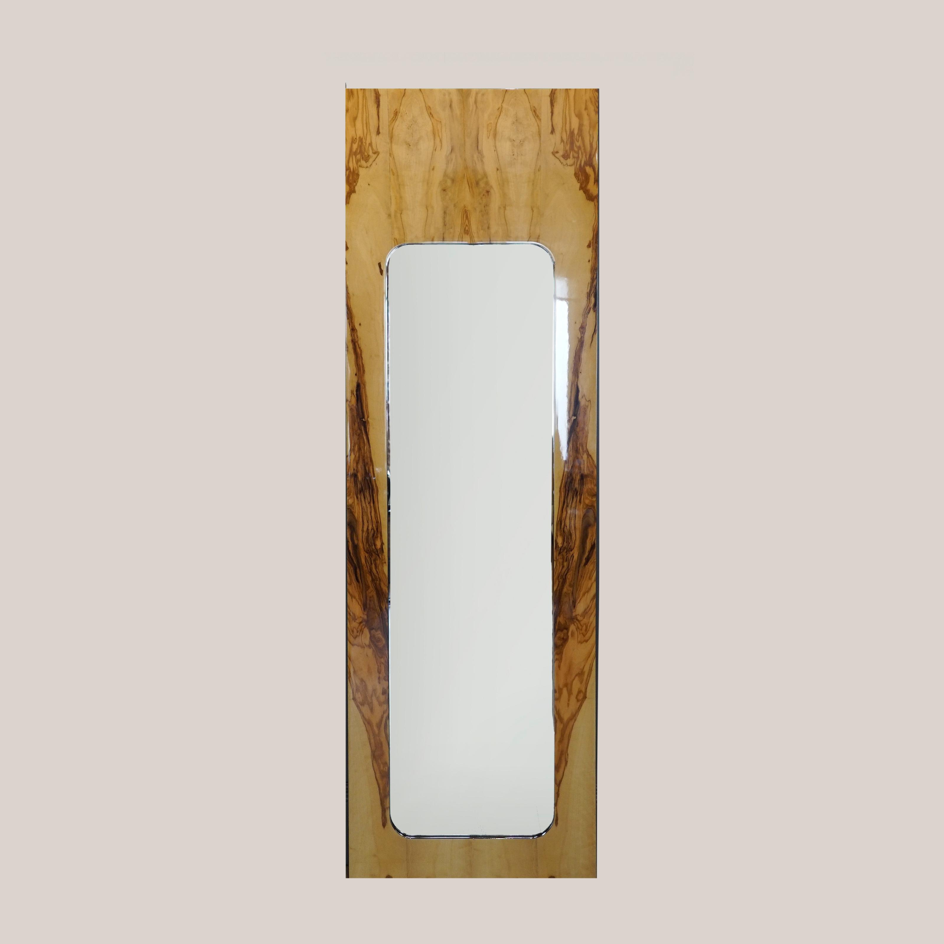 Зеркало олива среднее
