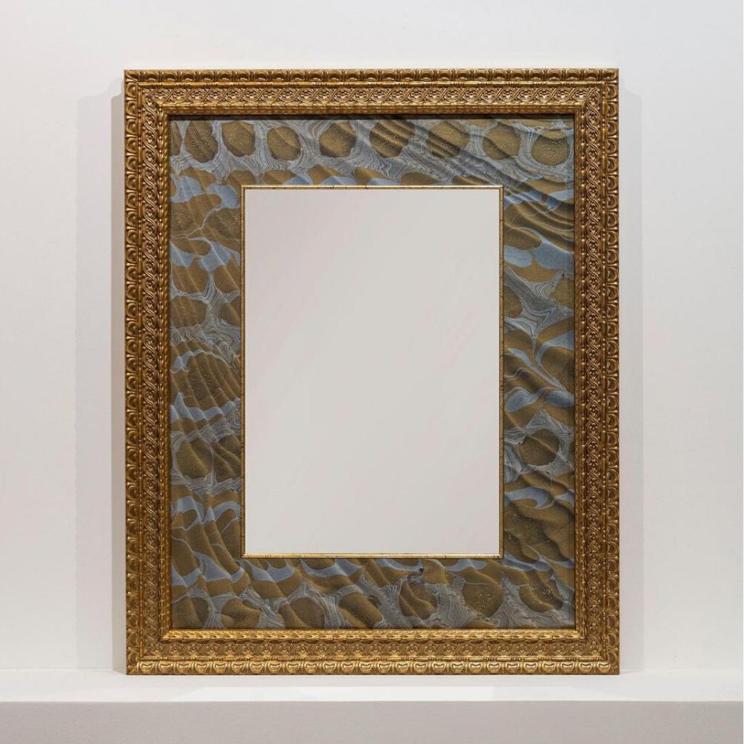 Зеркало с флорентийской бумагой