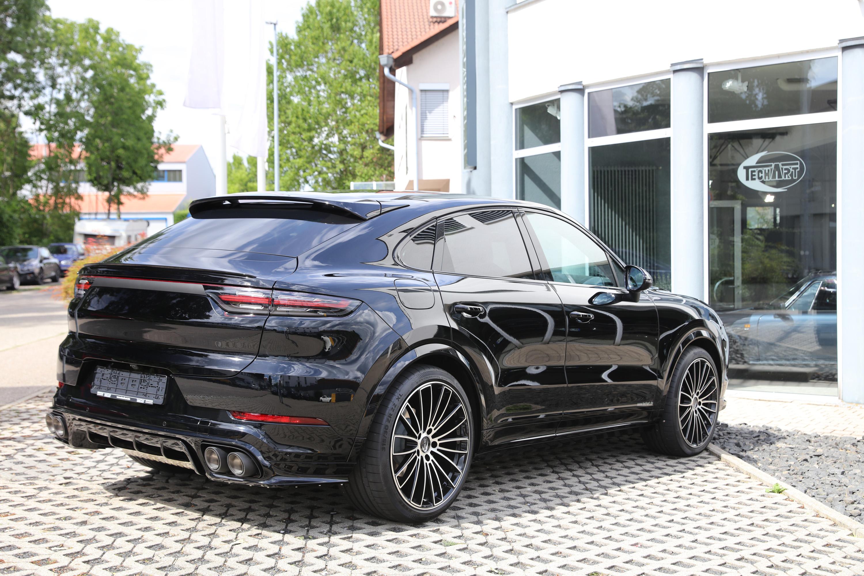 TECHART Спорт пакет для Porsche Cayenne Coupe