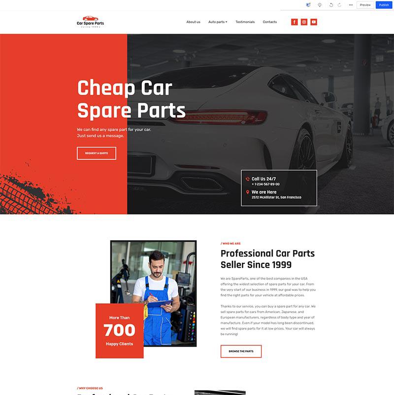 Car Parts Seller