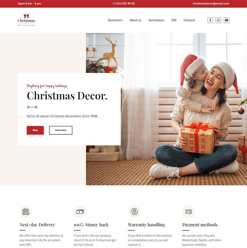 Christmas Decor Store