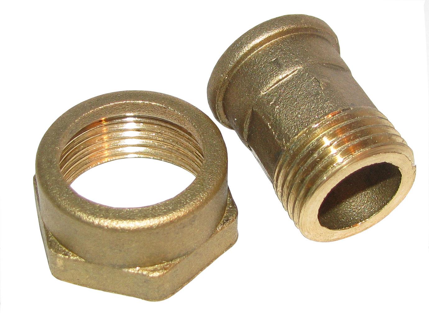 Комплект приєднувальний для водяного лічильника 25вн х 20зов без пр.