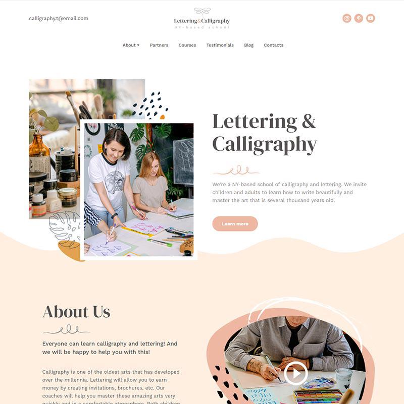 Lettering & Calligraphy School