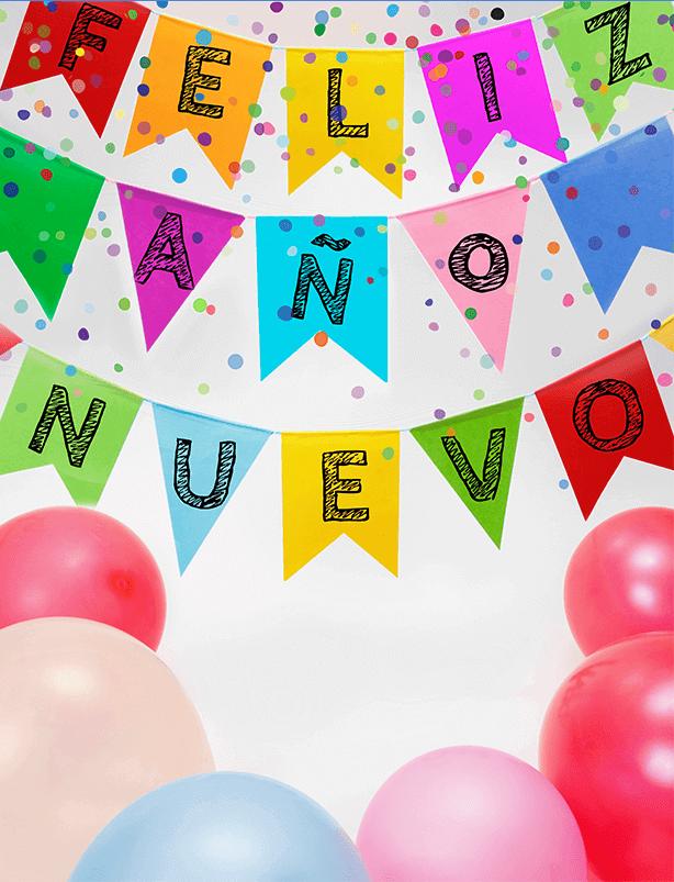 Bienvenido año nuevo