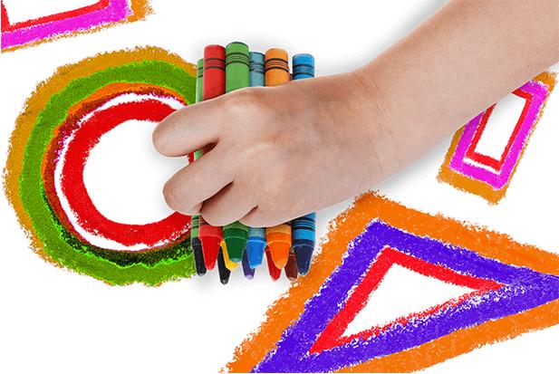 Geometría con muchos colores