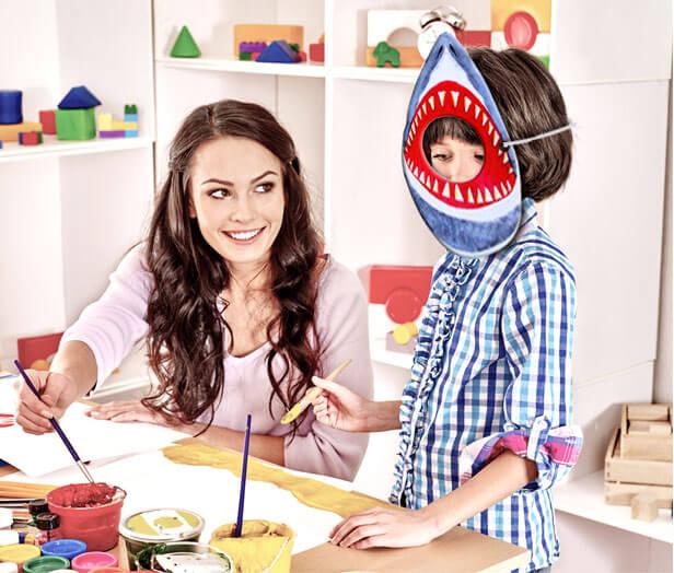 Hay un tiburón