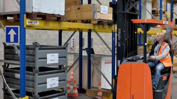 Pole emploi - offre emploi Cariste caces 5 (H/F) - Lagny-Le-Sec