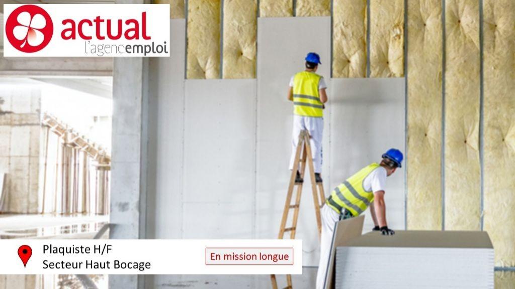 Pole emploi - offre emploi Plaquiste (H/F) - Beaurepaire