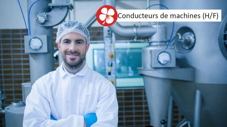Pole emploi - offre emploi Conducteur de machines (H/F) - Landerneau