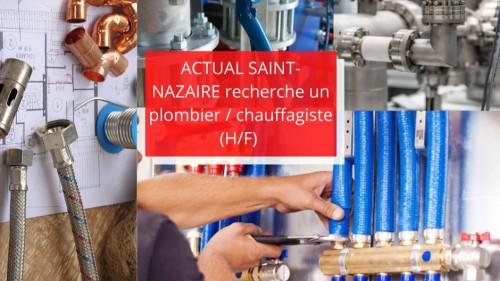 Pole emploi - offre emploi Plombier / chauffagiste (H/F) - Saint-Nazaire
