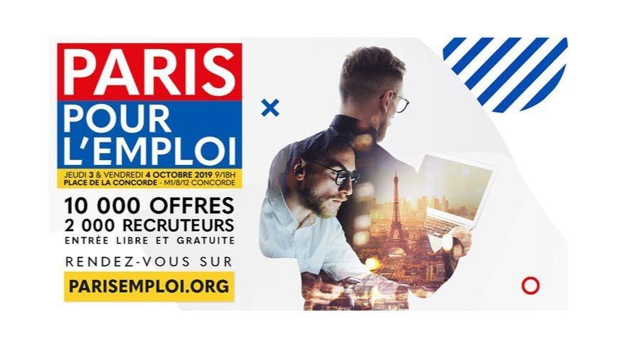 """Actual group représentait le label Tertiaire au salon """"Paris pour l'emploi"""""""