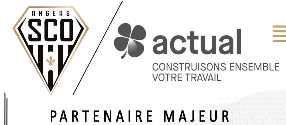 Actual group devient Partenaire Majeur d'Angers SCO