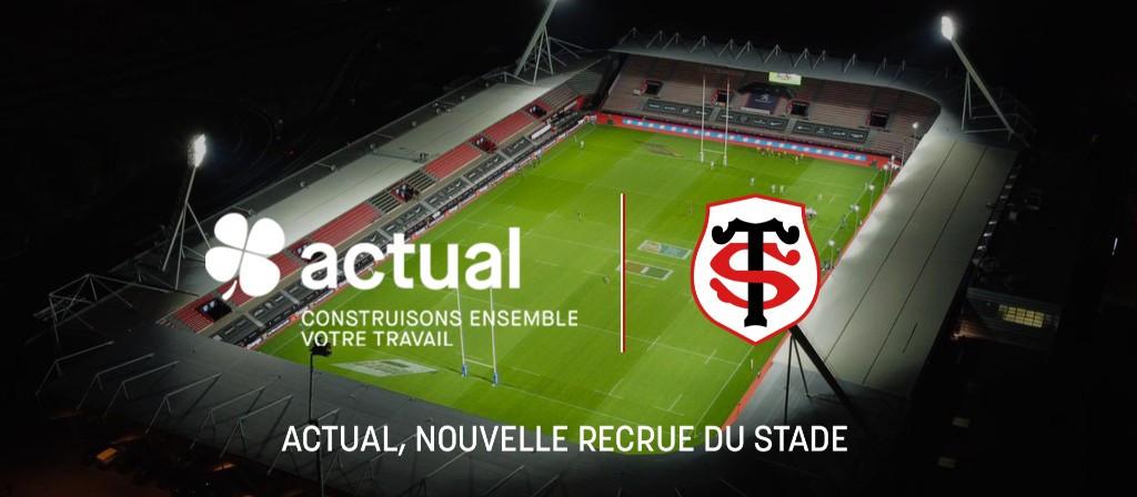 Actual, nouvelle recrue du Stade Toulousain