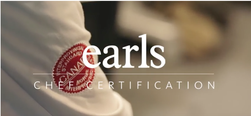 Earls Chef Certification
